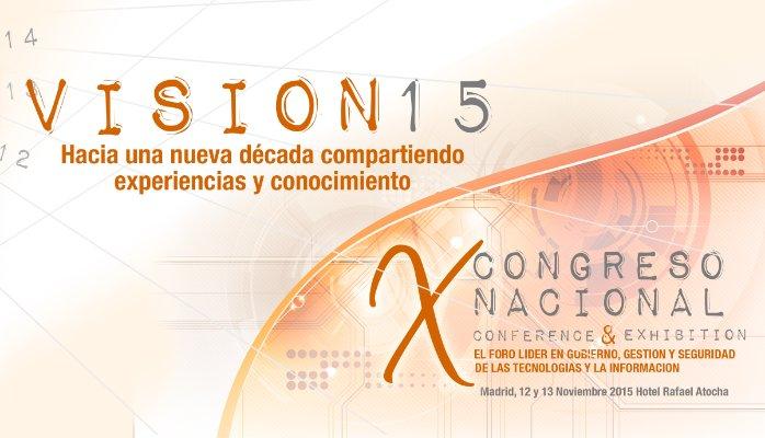 Nuestra VISIÓN como patrocinadores del  X Congreso de Itsmf  VISION15