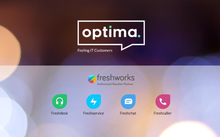 Optima Solutions amplía su oferta de tecnologías de soporte mediante un acuerdo con Freshworks