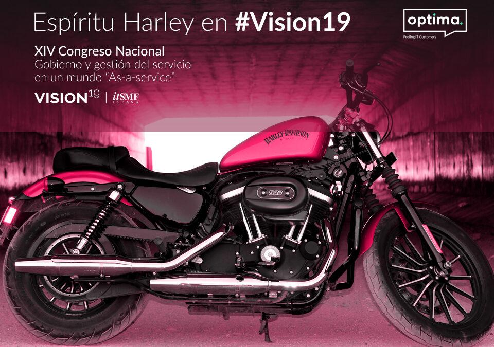 Espíritu Harley en Vision19 de Itsmf España